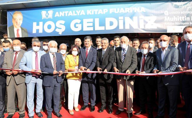 11. Antalya Kitap Fuarı açıldı  Antalya'da 10 gün boyunca kitap şöleni yaşanacak