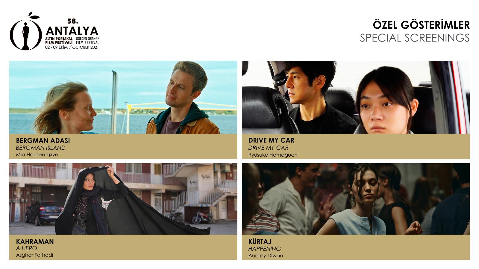 58. Antalya Altın Portakal Film Festivali Biletleri Yarın Satışa Çıkıyor