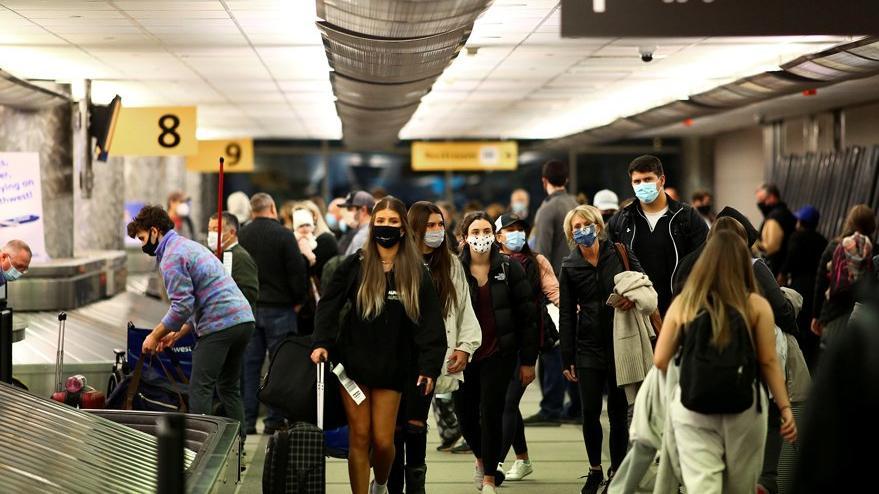 ABD'de maske takmak zorunlu hale geldi