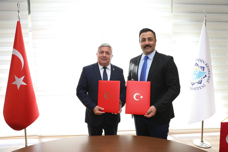 Alanya Alaaddin Keykubat Üniversitesi (ALKÜ) ile Bulgaristan Ruse Üniversitesi arasında iş birliği protokolü imzalandı
