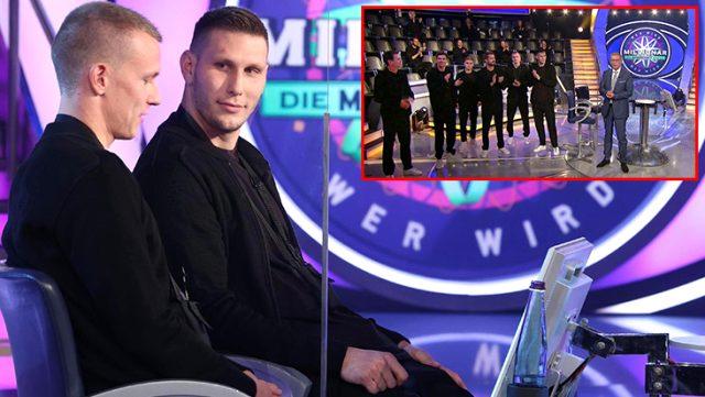 Almanya Milli Takımı oyuncuları Kim Milyoner Olmak İster'e katıldı