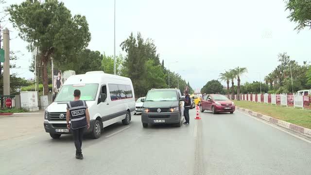 Antalya'da kontroller hava, kara ve denizden gerçekleştiriliyor