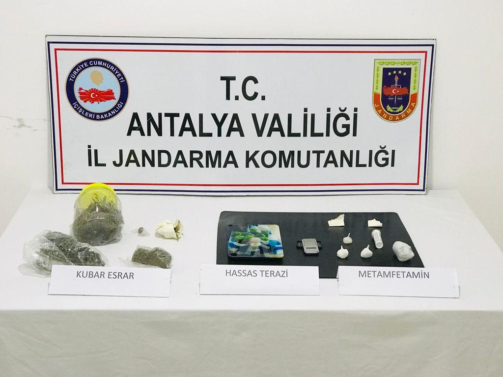 Antalya'da Uyuşturucu Madde İmal ve Ticaretine yönelik operasyon