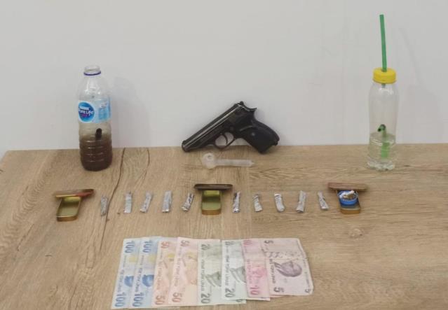 Antalya'da uyuşturucu operasyonunda bir şüpheli yakalandı