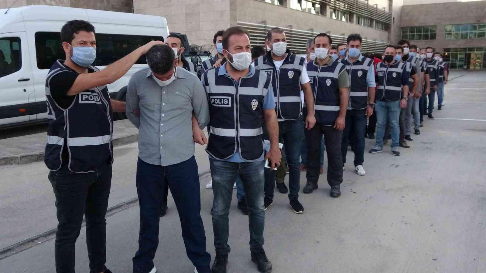 Antalya'da Vurgun operasyonu kapsamında 9 tutuklama