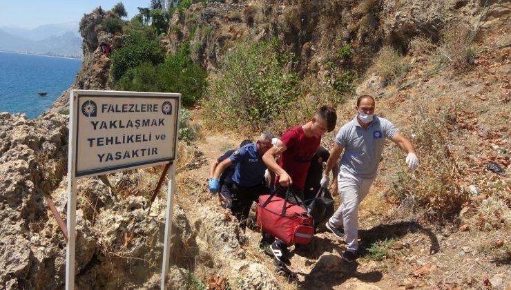 ANTALYA'DA YAVUZ ÖZCAN PARKI'NDA ERKEK CESEDİ BULUNDU