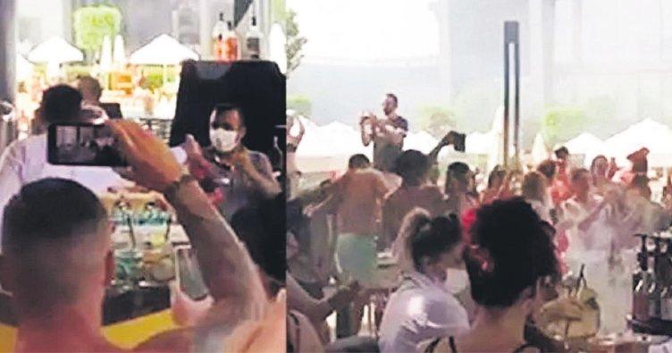 Antalya'daki bir otelde gerçekleşen partiden görüntülere ünlü isimler isyan etti