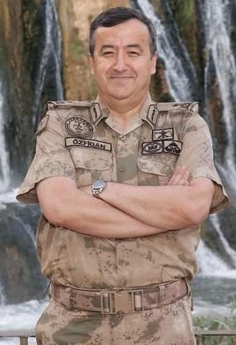 Antalya'nın yeni il jandarma komutanı Tuğgeneral Yavuz Özfidan