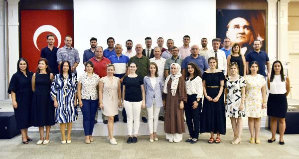 Antalya OSB Başkanı  Antalya OSB Teknik Koleji'nin eğitim kadrosu ile bir araya geldi