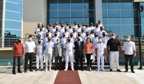 Antalya Sahil Güvenlik Okul Komutanlığı tarafından İHA Sertifika Töreni düzenlendi