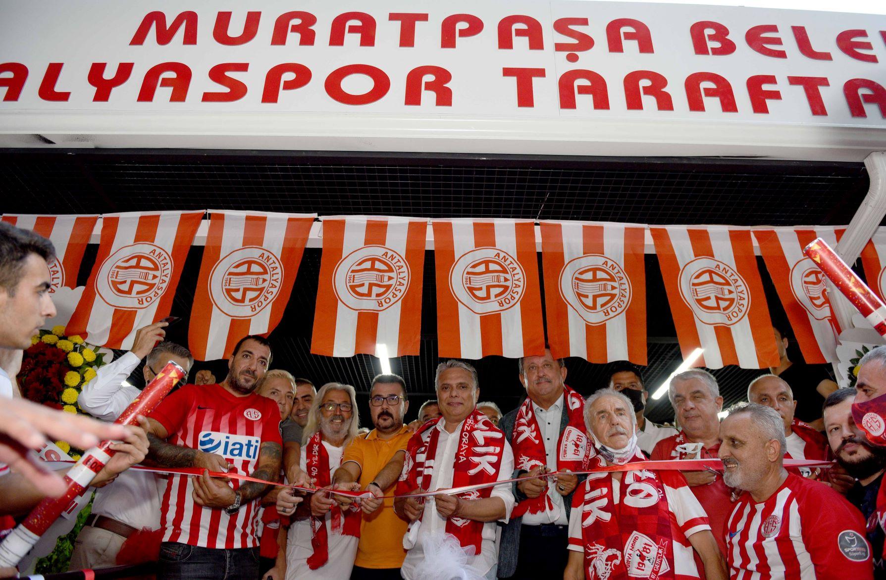 Antalyaspor Taraftarları Lokali törenle açıldı