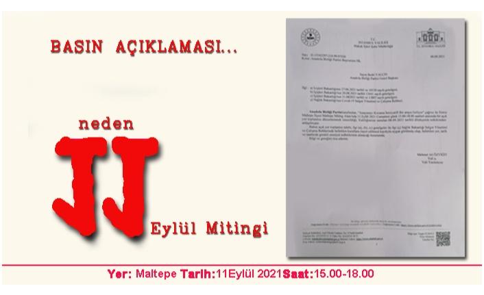 """""""AŞI KARŞITI DEĞİLİZ!""""  - MİTİNGİ, """"AŞI KARŞITLARI""""  DÜZENLEMİYOR!"""