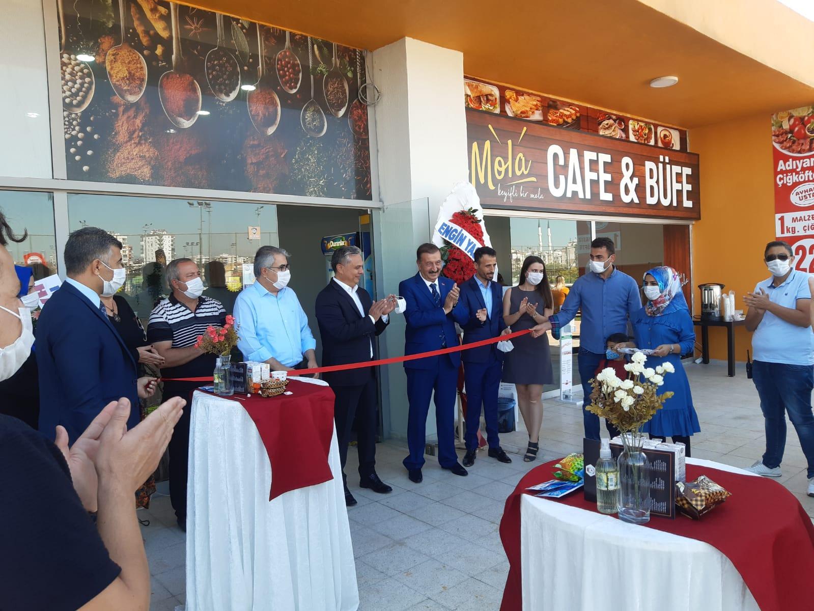 Başbal Yöresel Ürünler, Muratpaşa Belediyesi ve Anadolu Birliği Partisi Genel Başkanı eşliğinde açıldı