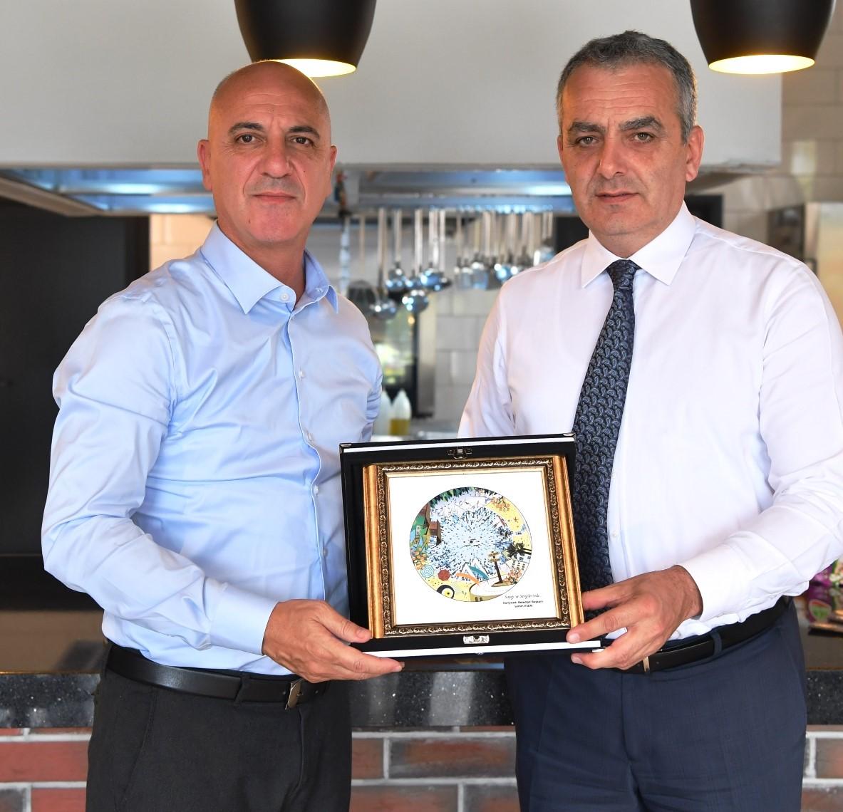 Başkan Esen'den Antalya OSB Teknik Koleji'ne tam not