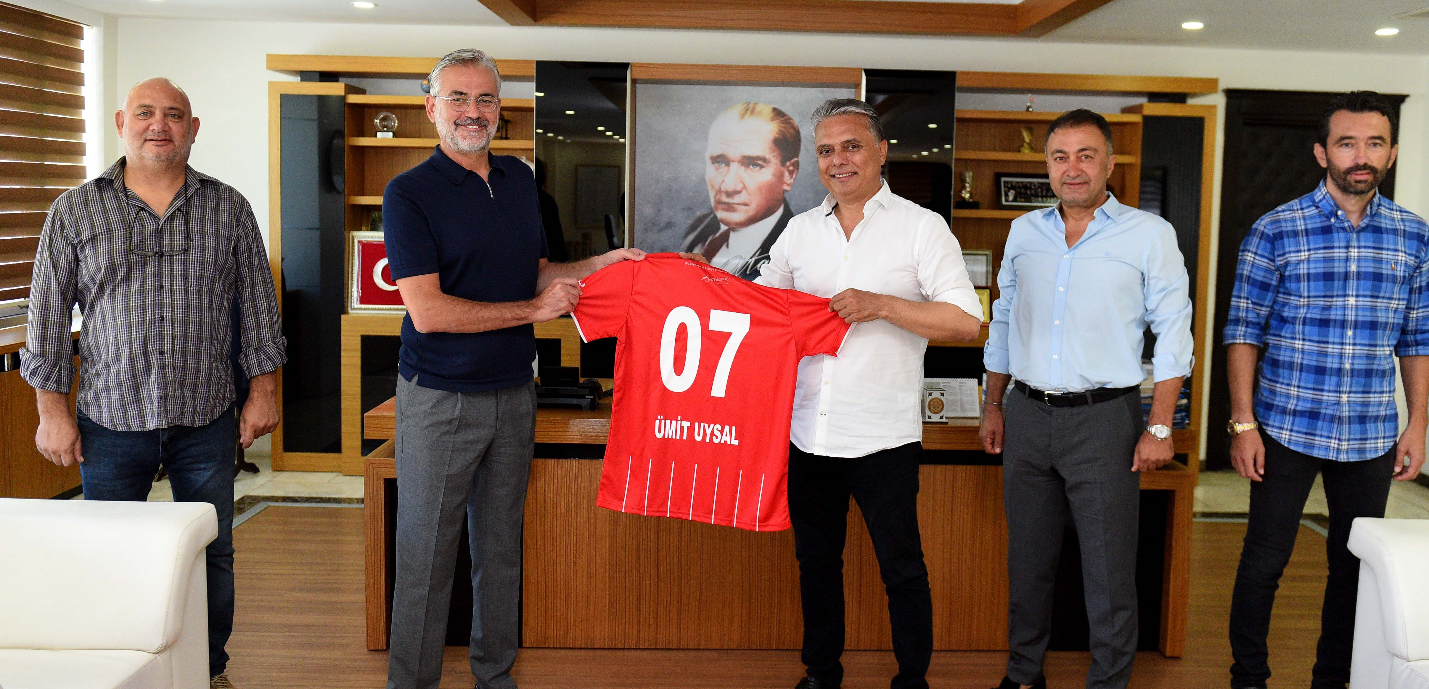 Başkan Uysal'dan tam destek