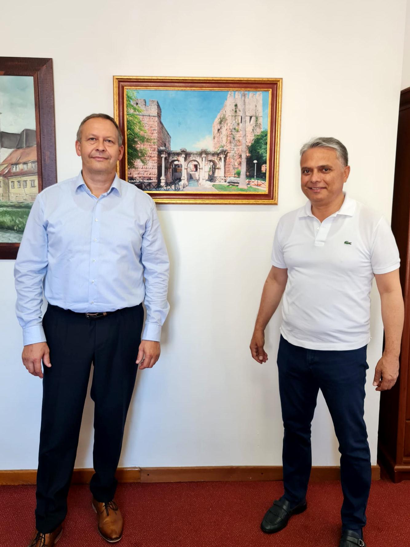 Başkan Uysal'dan tanıtım maratonu