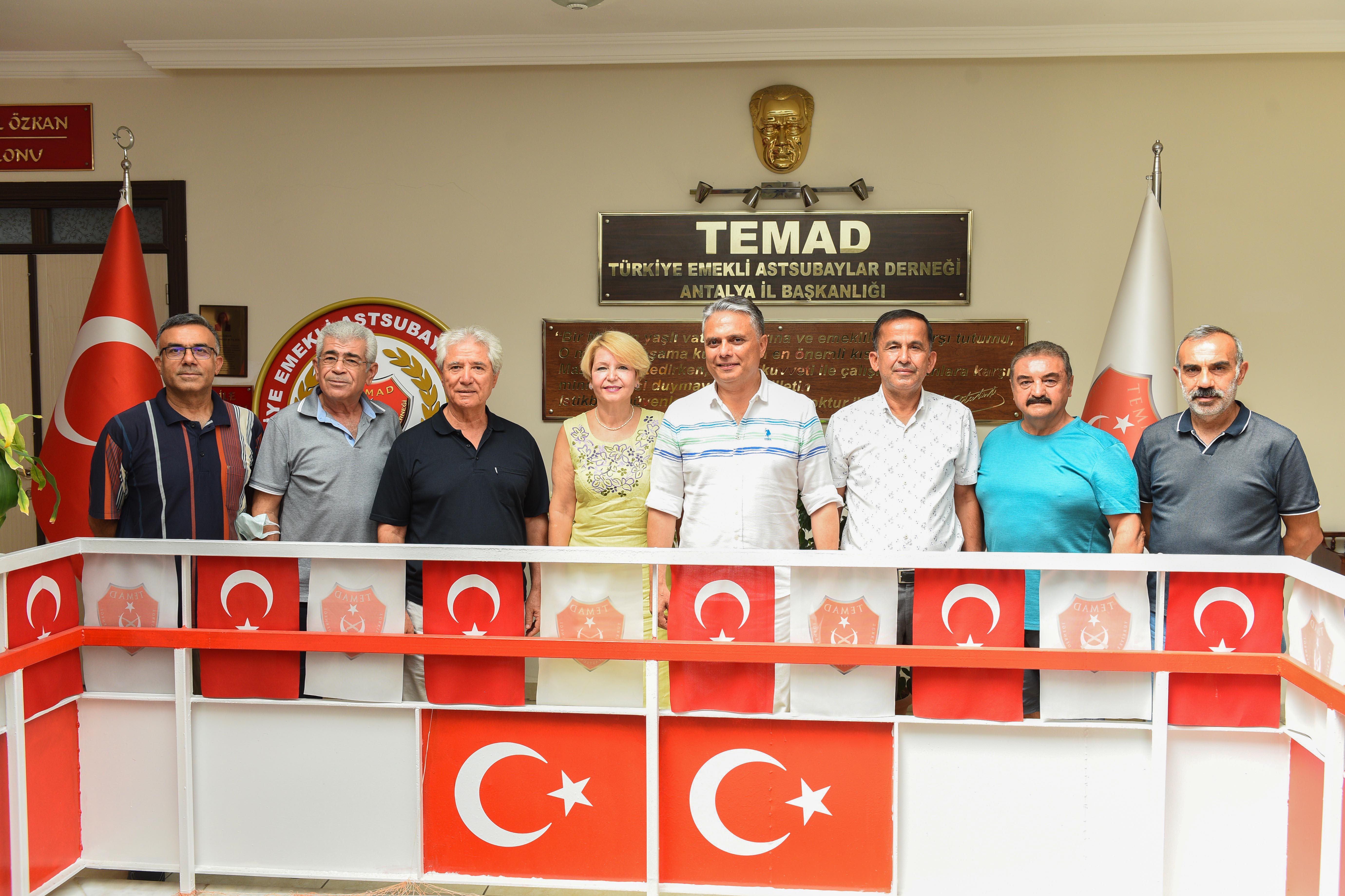 Başkan Uysal'dan TEMAD ziyareti