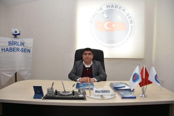 Birlik Haber-Sen Genel Başkanı Ömer Budak, Antalya'da temsilcilerle bir toplantı gerçekleştirdi.