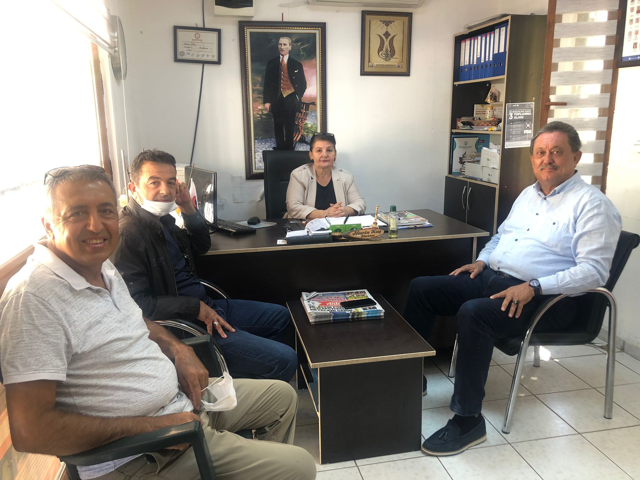 CHP Antalya Milletvekili Aydın Özer'den Mahalle Muhtarlarına Ziyaret
