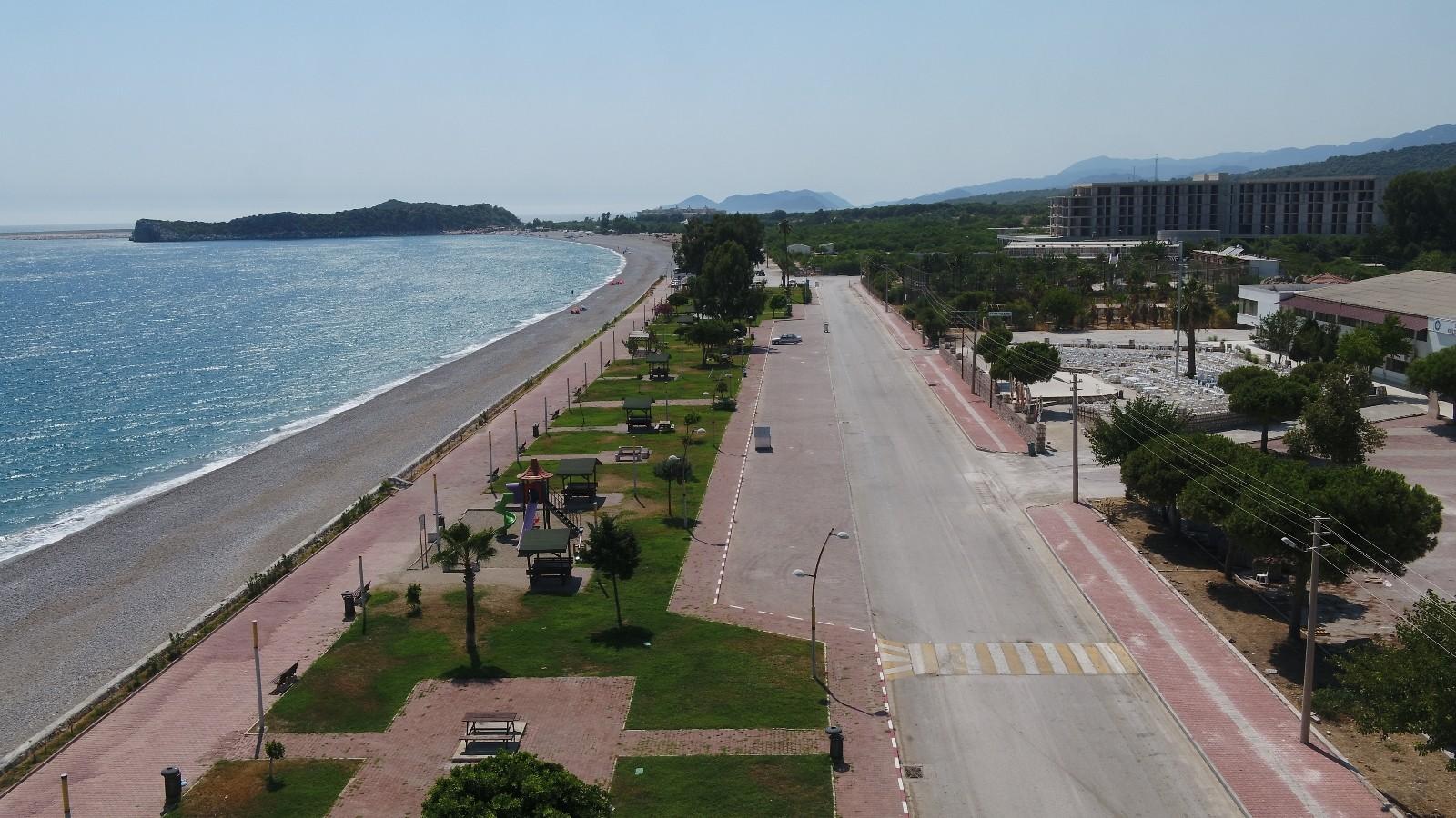 Demre'ye 2 bin 200 metrekare uzunluğunda yürüyüş yolu