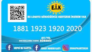 ESNAF İNDİRİM KARTI SATIŞ NOKTALARI