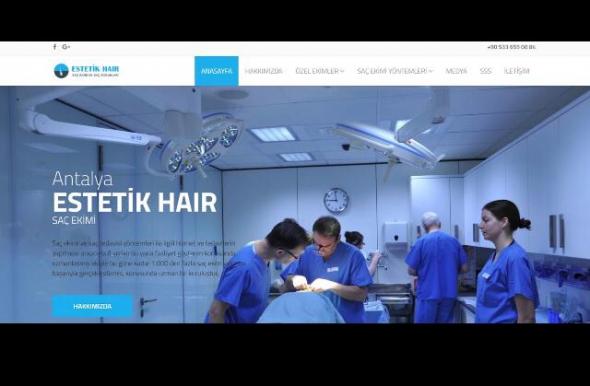 Estetik Hair Saç Ekim Uzmanı Adem KORKUT