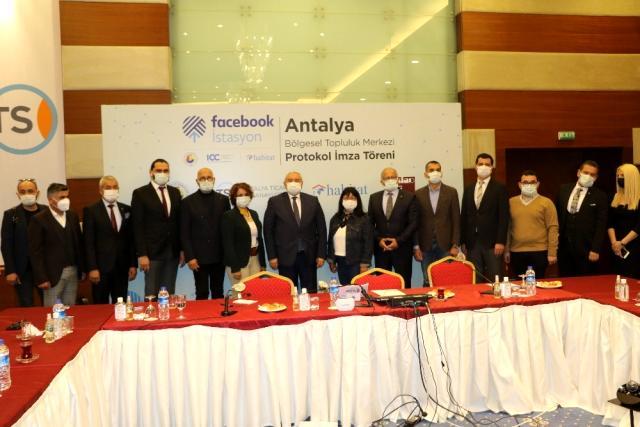 Facebook İstasyon'un uydu merkezlerinden birinin Antalya'da açılması için hazırlıklara başlandı