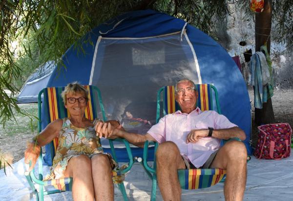 Fransız Çift 34 yıl Önce tatil yaptıkları Demre'ye 50. yıldönümlerini kutlamak için geldi
