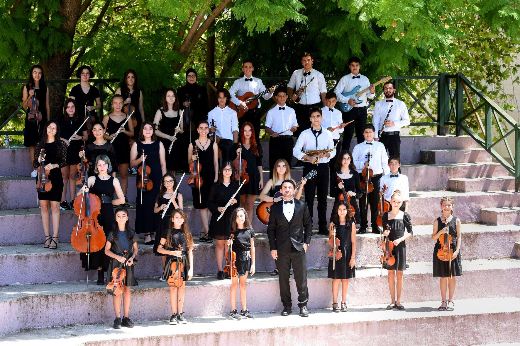 Genç müzisyenler büyük konsere hazır