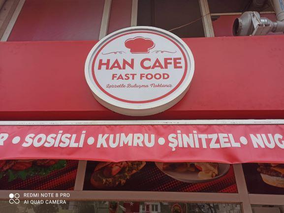 HAN CAFE FAST FOOD ESNAF İNDİRİM KARTI ÜYESİ
