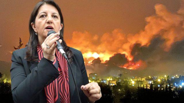 Hatay'daki yangınlarla ilgili HDP'den dikkat çeken çıkış: Lanetliyoruz