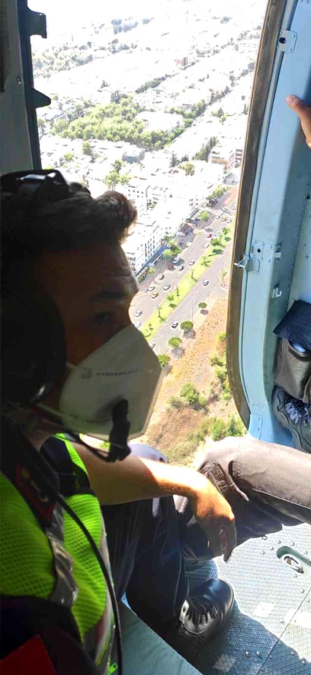 Havadan ve karadan gerçekleştirilen trafik denetimlerinde ceza yağdı