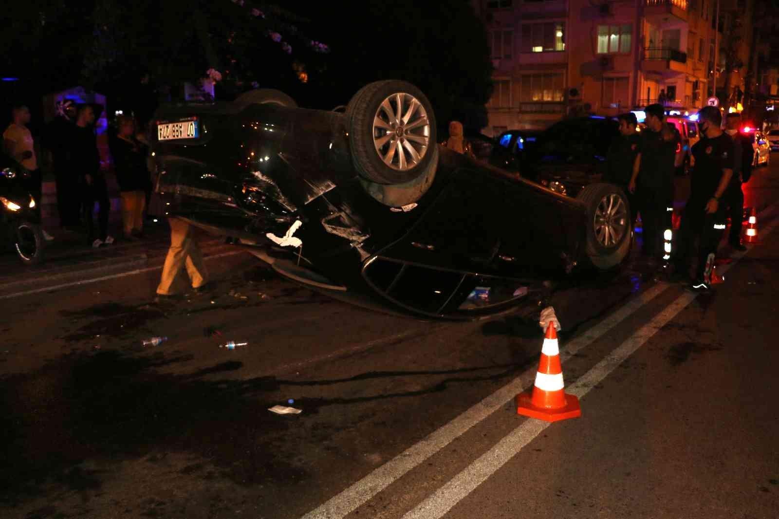 """Kaza sonrası sürücüler arasında """"beddua"""" tartışması"""