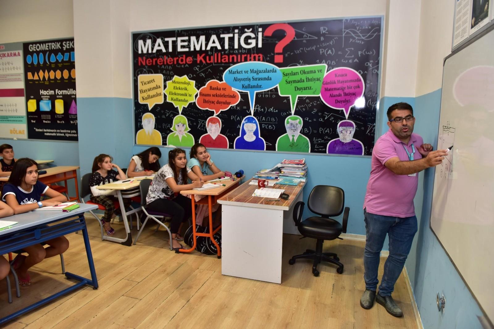 Kepez Belediyesi'nin ilköğretimi destekleme kursları başlıyor
