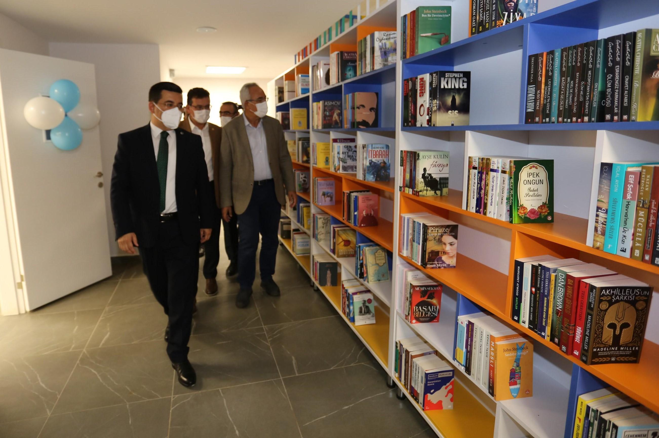 Kepez'e Şehit Yasin Naci Ağaroğlu Kütüphane ve Eğitim Tesisi