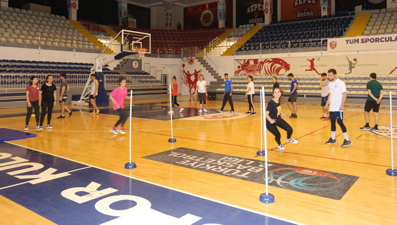 Kepez'in POMEM parkur hazırlık kursları başlıyor