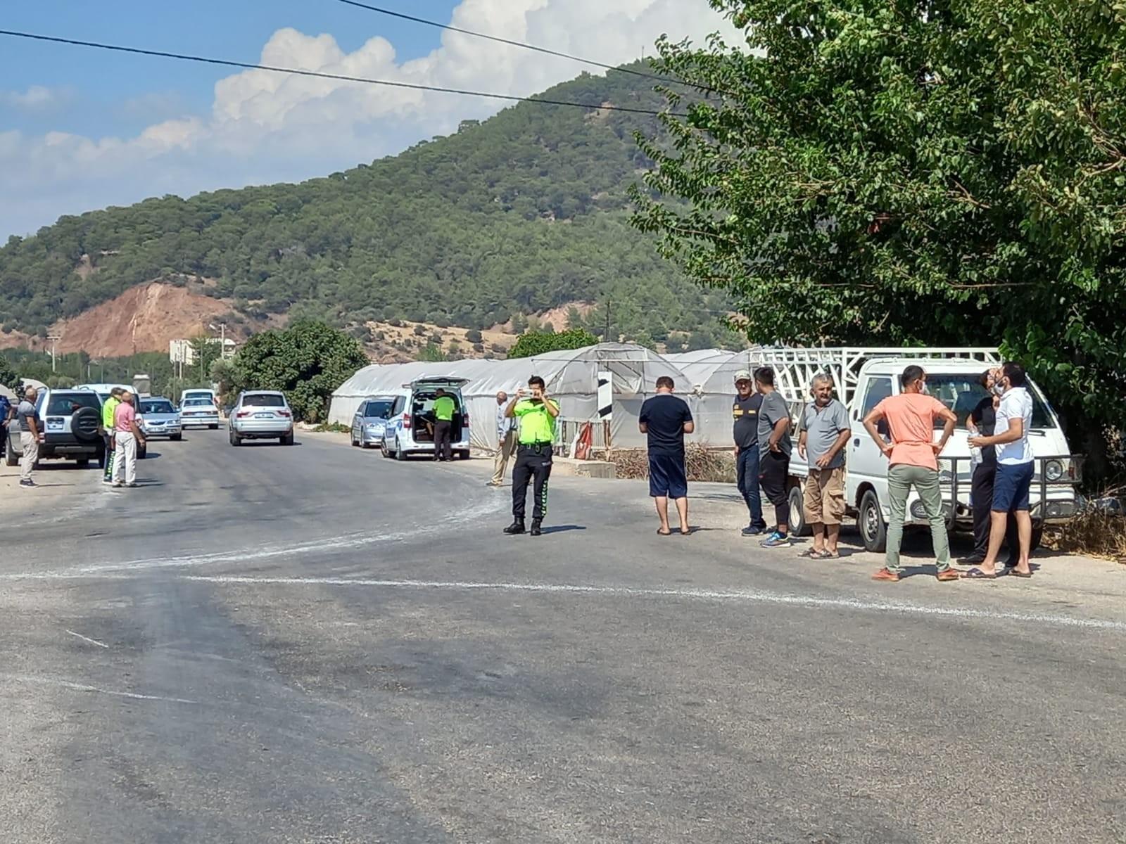 Kumluca ilçesinde meydana gelen trafik kazasında bir kişi hayatını kaybetti