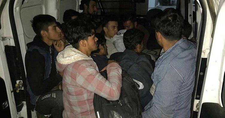 Manavgat'ta ve Van'da kaçak göçmenler yakalandı