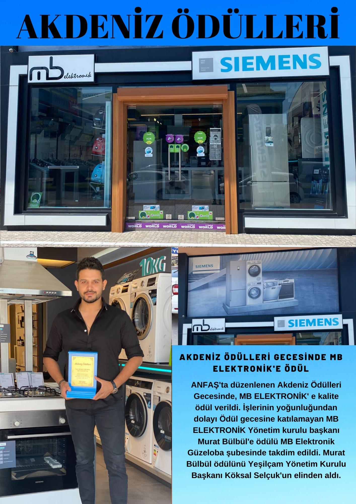MB Elektronik Murat Bülbül'e Ödül