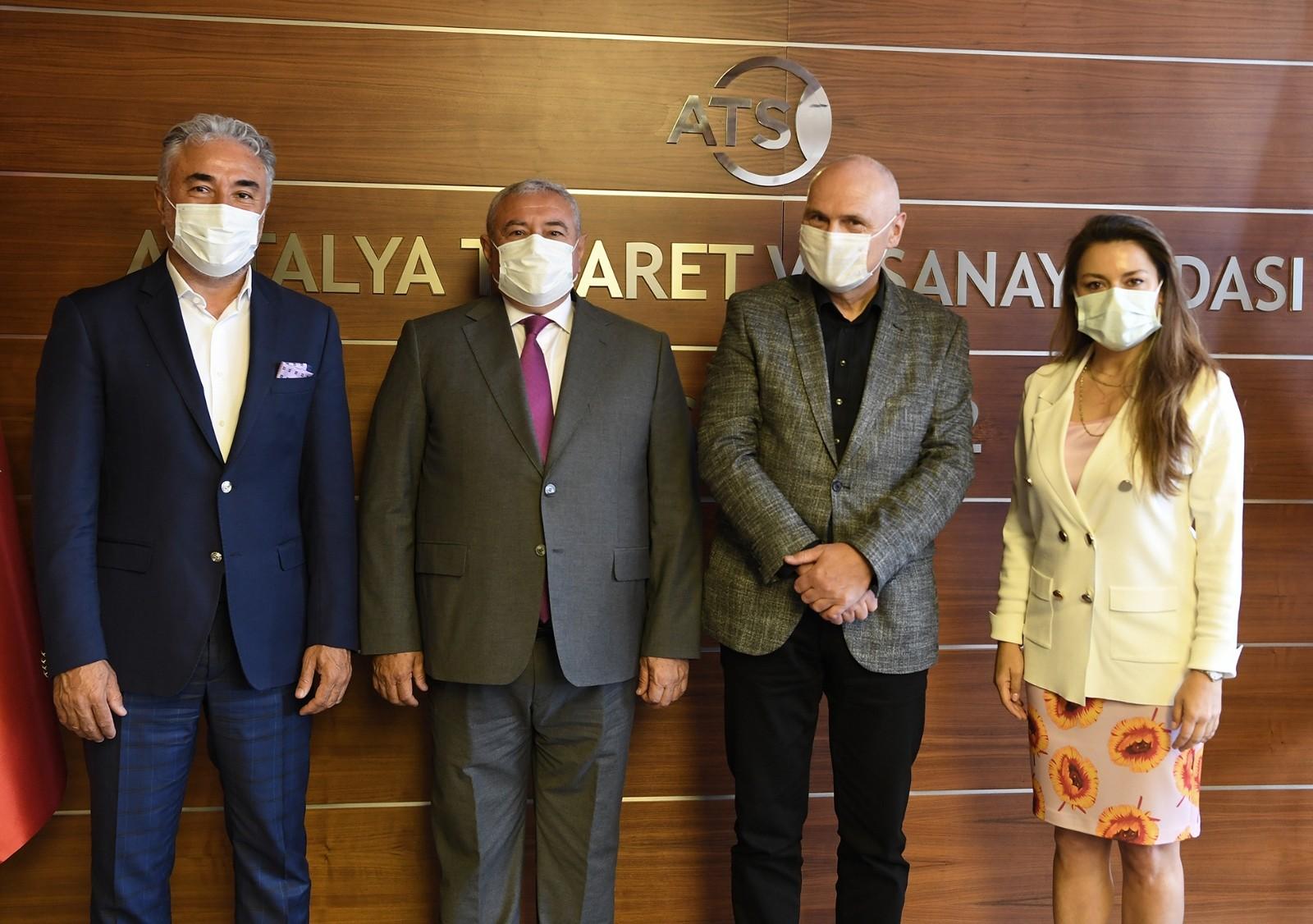 Pandemi, Antalya'ya yatırım yapan yabancı sermayeyi durdurmadı