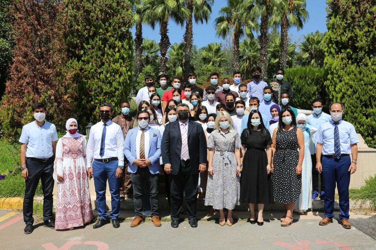 Rektör Özkan''Her bir yabancı öğrenci Antalya'nın tanıtım elçisidir''