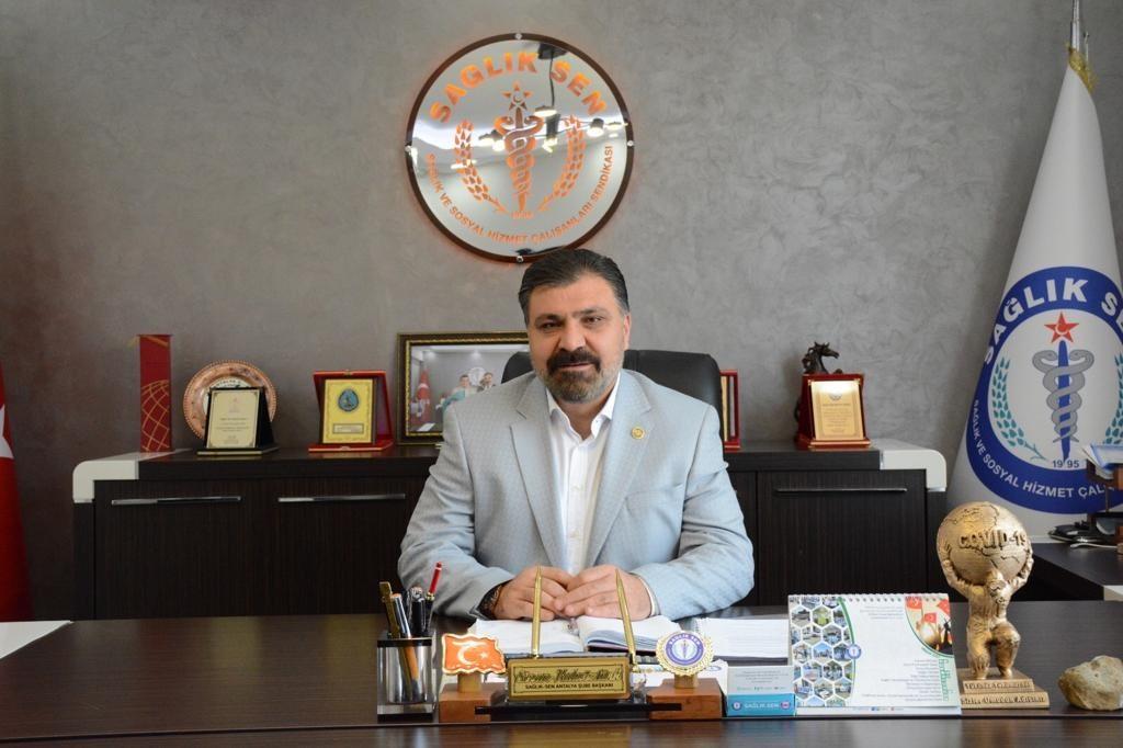 Sağlık-Sen Antalya Şube Başkanı'ndan sağlıkçıların izin yasağına tepki