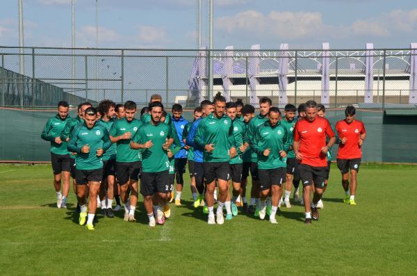 SERİK Belediyespor 5 Eylül'de başlayacak olan yeni sezon hazırlıklarına başladı
