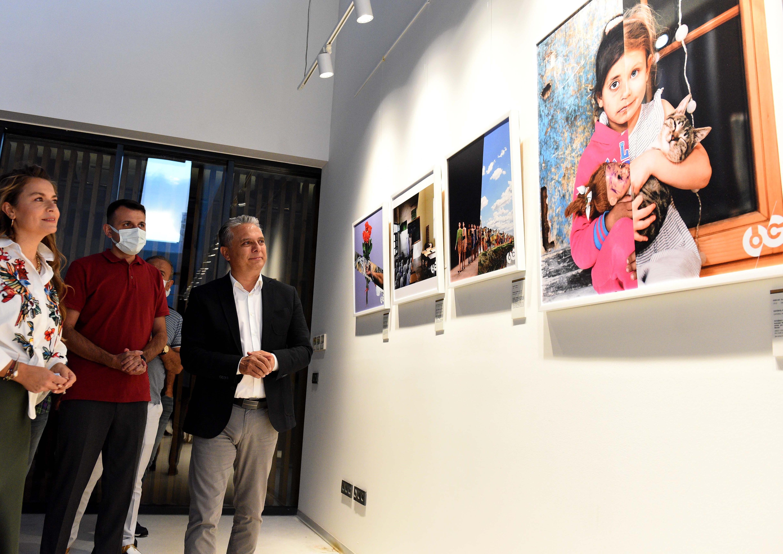 Türkiye'deki ilk sergi Muratpaşa'da