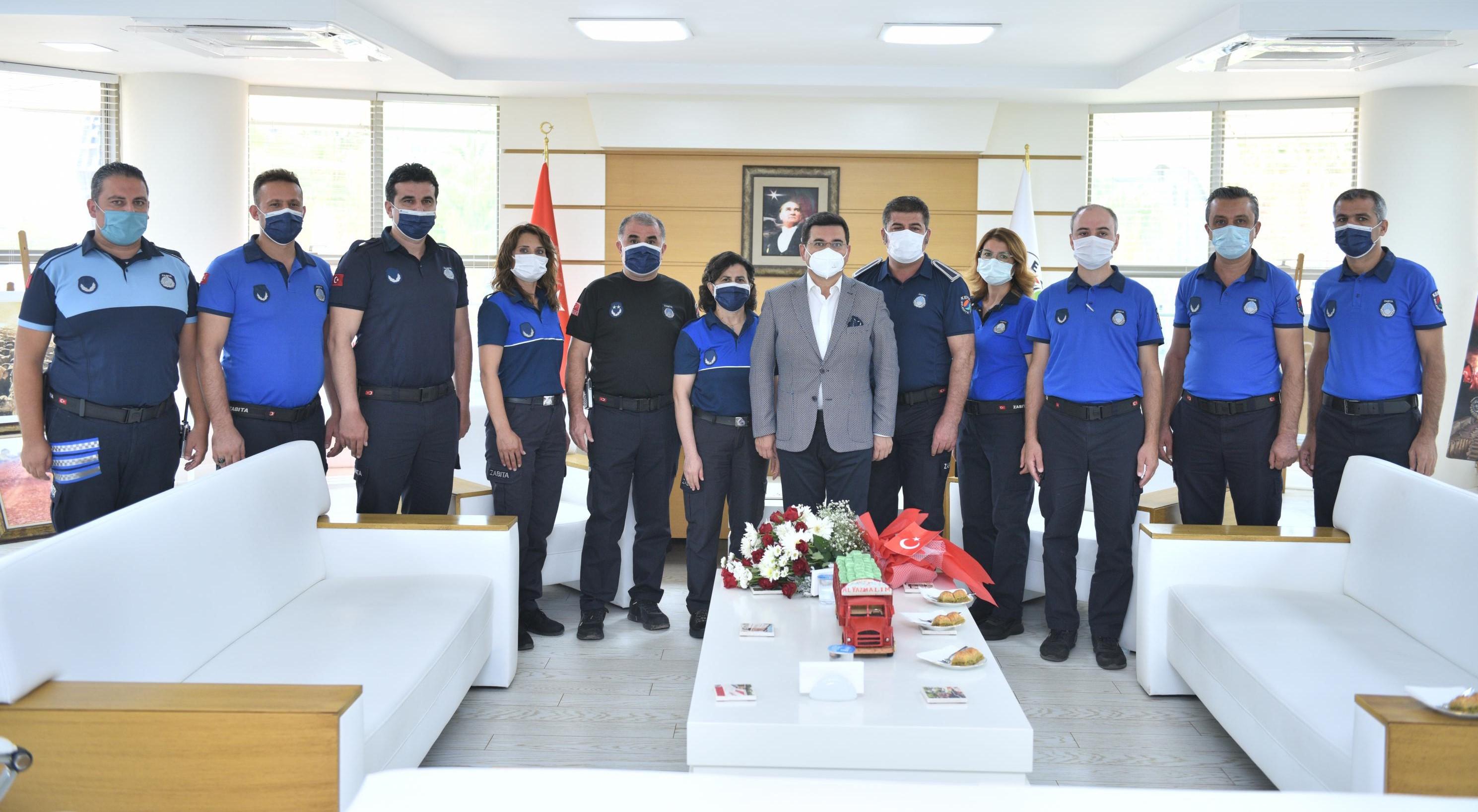 Tütüncü, Zabıta Teşkilatının kuruluş yıl dönümünü kutladı