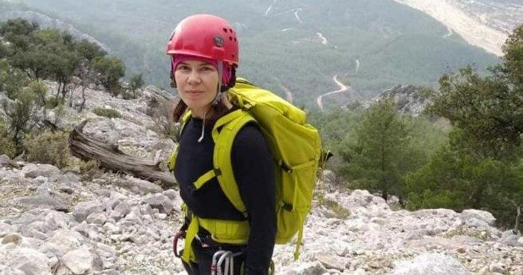 Ukraynalı kadın dağcının cesedi bulundu