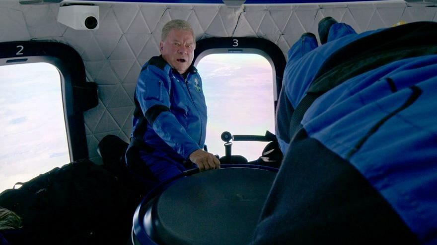 Uzay Yolu'nun efsane ismi en yaşlı uzay yolcusu oldu