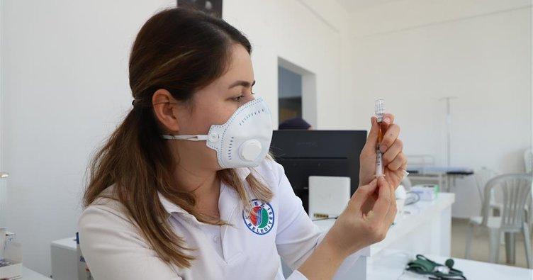 Yaylalar için başlatılan aşı çalışmasının 2. doz uygulamaları tamamlandı