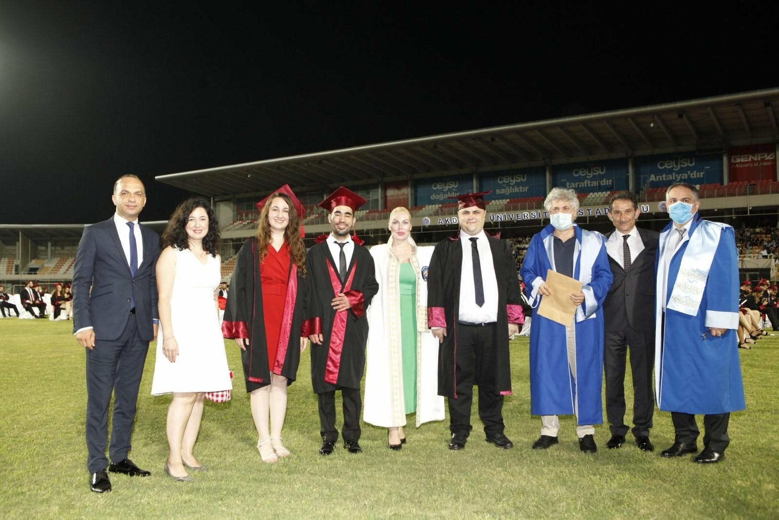 YKS sınavında derece yapan 14 öğrencinin tercihi Akdeniz Üniversitesi oldu